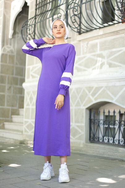 Elbise Açık Mor - 4134
