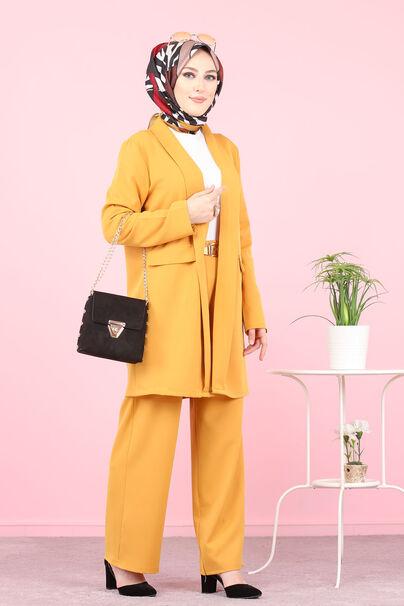 Jacket and Pants Mustard - 8398