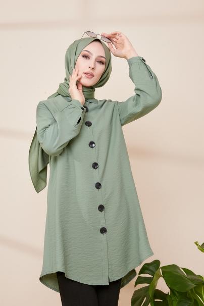 Shirt Khaki - 3042